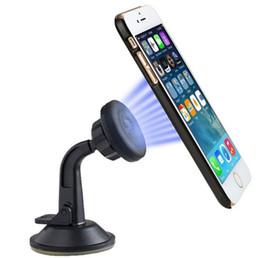Универсальный держатель телефона gooseneck онлайн-Универсальный мобильный телефон держатель приборной панели лобовое стекло автомобиля долго Gooseneck Магнитный держатель стенд для iphone для Samsung смартфон GPS LLFA