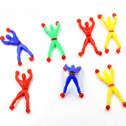 Wholesale Toy Climbers - Climb a wall people sticky spider climbing a superman stalls selling creative gifts toys puzzle Climber   Tricky Toy