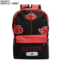 Giappone Anime Naruto Sasuke zaino cartone animato tela borsa da viaggio adolescenti borsa a tracolla cheap bag japan anime da sacchetto japan anime fornitori