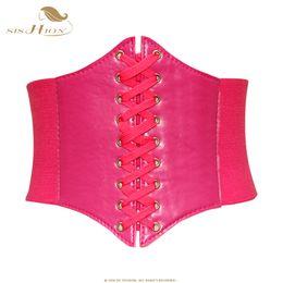 SISHION Kadınlar Bel Cincher Korse Bel Korse Üst Seksi Pembe Kırmızı Siyah Corselet Zayıflama Shapewear Bodysuit Bustiers VB0001R supplier black corset top bodysuit nereden siyah korse üst bodysuit tedarikçiler