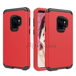 Wholesale Hybrid Rugged - Quality Hybrid Defender Cases For iPhone X, iPhone 8 7 6 plus Rugged Armor Shockproof phone case For Samsung S8 s9 plus Note 8