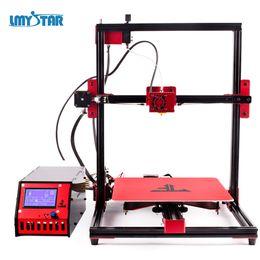 Wholesale 3d Printer Filament Pla - LMYSTAR 3D Printer 2018 Newest Kit Part with Filament E10 Plus Reprap I3 3D Printing Machine Large Print Size 260 x 280 x 300 mm