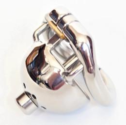 verriegelung der harnröhre Rabatt Super Kleine Cock Cage Mit 8 mm Durchmesser Harnröhrenkatheter Edelstahl Männlich Keuschheitsgürtel 1,77