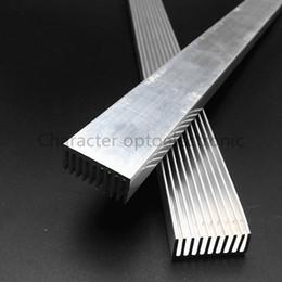 Wholesale 1w led heatsink - 1-10pcs lot High Power LED aluminum Heatsink 300mm*25mm*12mm for 1W,3W,5W led emitter diodes