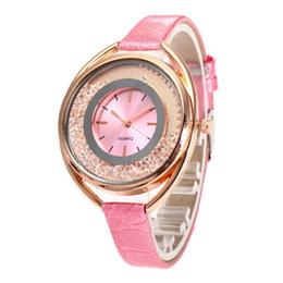Argentina Moda mujer arenas movedizas reloj de ocio casual señoras Rhinestone diamantes relojes de regalo de cuarzo relojes de pulsera para las mujeres cheap quicksand watches Suministro