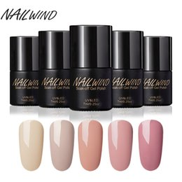 Wholesale Nude Girl Paintings - NAILWIND Nail Polish Best Color Paint Color Series 7ML Fashion Girl Nail Gel Paint for UV Lamps Permanent