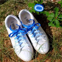Плоские конфеты цвета градиент изменения цвета шнурки ну вечеринку кемпинг сапоги шнурки холст строки растущие холст строки от Поставщики шнуры для обуви