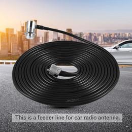 Antena de radio kenwood online-Enchufe del cable M del alimentador de 5M / 16ft para la antena de radio de coche Kenwood / ICOM / ALINCO