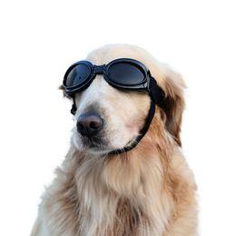 2019 óculos de cão de plástico 2018 New pet fornecimentos cão óculos de proteção para os olhos ao ar livre em forma de coração em forma de óculos de sol 5 cores disponíveis