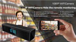 HD Wifi Reloj P2P Cámara IP 1080p Visión nocturna Reloj Agujero de cámara Cámara Digital Reloj Activado Grabador de video Inicio Seguridad Red cam desde fabricantes