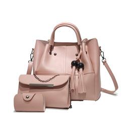 Lukatu 3 pçs / sets bolsas femininas grande capacidade de couro bolsa de ombro + crossbody bag + bolsa de alta qualidade bolsos mujer de Fornecedores de crochet padrões bolsa