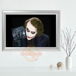 Wholesale Picture Frame Custom - Custom Joker Canvas Frame Aluminum Alloy Painting Fabric Frame Home Decor Canvas Picture YSJ#21