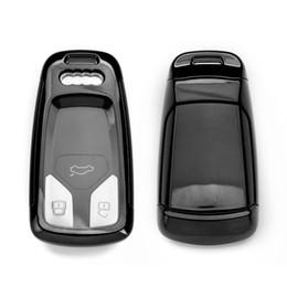 TPU Yumuşak Plastik Araba Anahtarı Durum Anahtar Kabuk Oto Uzaktan Kumanda Anahtar Kabuk Audi Araba Özel Araba Aksesuarları 2018 sıcak nereden uzaktan kumandalı audi otomobil tedarikçiler