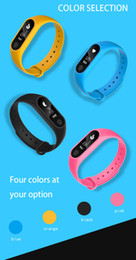 Wholesale Pro Monitors - M2 pro Bluetooth4.0 Blood Pressure Waterproof IP67 Smart Bracelet Heart Rate Monitor Sleep monitor Wristband for Android iOS With Package