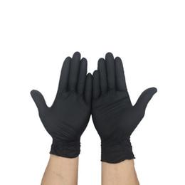 Guantes de dedos mecánicos online-Elasticidad Anti Estática Guantes Limpieza Lavado Desechable Mecánico Cinco Dedos Guante Antideslizante Hogar Suministros Nueva Llegada 25kd BB