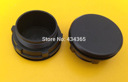 Wholesale Panel Indicator - 10pcs Black 30mm series push button switch & indicator plug panel hole switch plug plastic panel