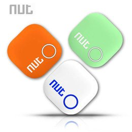Wholesale Two Way Anti Lost Alarm - Nut 2 Intelligent Bluetooth Mini Anti-lost Tracking Tag Alarm Patch Child Pet GPS Two-way Smart Finder Support iOS Android phone