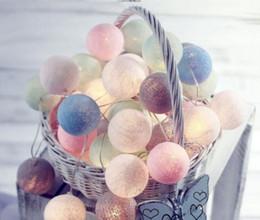 LED boule de coton usb charge chaîne lumière de noël décoration atmosphère 3 m 20 ampoule cordes lampes vacances fête de mariage decorationn ? partir de fabricateur