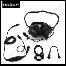Scheitelkopfhörer online-Heavey Walkie Talkie Noise Cancelling Headset für Vertex VX231