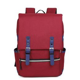 Корейская школьная тетрадь онлайн-Корейский стиль большая емкость повседневная путешествия водонепроницаемый женщины сумка ноутбук рюкзак школьный рюкзак для мальчика