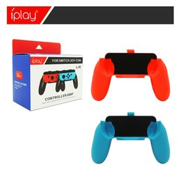 Wholesale Grip Handles - Controller Grip Holder for Nintendo Switch Joy-Con NS Left and Right Joy Con Gamepad Grips Handle 30PAIR LOT