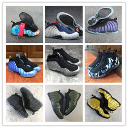 Wholesale usa pennies - 2018 Popular Mens Penny Hardaway One PRM Galaxy 2.0 Olympic USA Basketball Shoes Top quality Comfortable Sports Ventilation SIZE 41-46