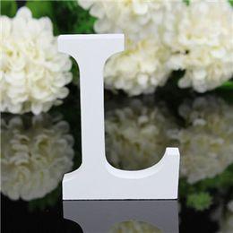 26 Grandes Lettres En Bois Alphabet Tenture De Fête De Mariage Maison Boutique Décoration Accessoires De La Photographie Présentoir Ornements ? partir de fabricateur
