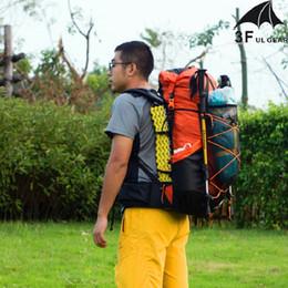 3f ул передач Скидка 3F UL передач водостойкий туризм рюкзак легкий кемпинг пакет путешествия альпинизм рюкзак походы рюкзаки 40 + 16L