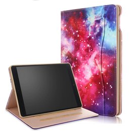 luxury cases for ipad Promo Codes - Luxury Stand Smart leather Case Cover For Apple ipad 9.7 2018 2017 ipad air 2 Colorful cartoon case