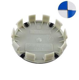 2019 tapas del centro de la rueda bmw 68mm 4 unids azul blanco 68 mm 10 pin Auto Car Wheel Center Hub tapas Rim Caps cubre insignia insignia para BMW E46 E30 E39 E34 E60 E36 E38 M3 M5 rebajas tapas del centro de la rueda bmw 68mm