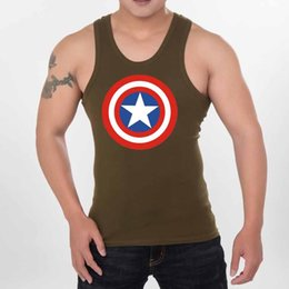 Wholesale Wholesale Blank Tanks - Seven Joe. Musculation Vest Bodybuilding Clothing and Fitness Men Undershirt Solid Tank Tops Blank Golds Men Undershirt