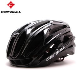 Супер легкие шлемы велосипеда онлайн-CAIRBULL for Road mountain mtb bike riding helmet super light integration molding bicycle 4D cycling helmet safty cap