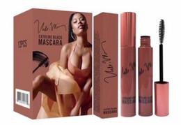 Wholesale Best Selling Mascara - Free Shipping NEW Brand Makeup Lowest Best-Selling Nicki Minaj Waterproof mascara black 3PCS
