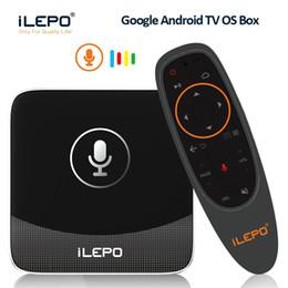 Гугл голосовое управление в Android окно ilepo i18 S905W TV коробки 2018 горячая Android-ТВ 7.1.2 система Smart 4K коробка бесплатные фильмы потокового против X96 мини от Поставщики андроид фильм поле