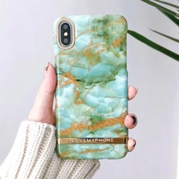 Wholesale i phone hard cover - Green I LOVE MY PHONE Slim Hard PC Back Cover Case for IPhone 6 6S 7 8 X Plus