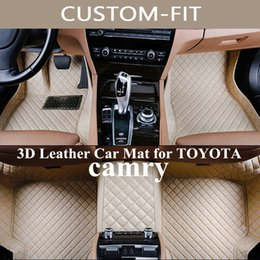 accessories camry Coupons - Custom Car Floor Mats for toyota camry 2004 2007 2008 2009 2014 Car Accessories 2016 2018 Carpet Alfombra Coche Dywaniki Samochodowe