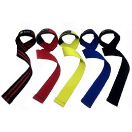 Wholesale Weight Lifting Wrist Support Hook - Lifting Straps - Weightlifting Hand Bar Wrist Support Hook Wrap Wrist Supports Assist Grip Strength Weight Lifting Strap