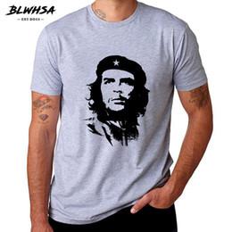 BLWHSA Che Guevara Hero Maglietta degli uomini di alta qualità stampato  100% cotone manica corta T-shirt modello hipster Tee Cool uomini  abbigliamento che ... 5bb3af543757