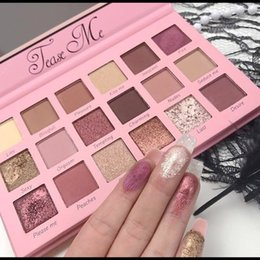 Wholesale Usa Sellers - IN STOCK Beauty Creations Tease Me Eyeshadow Palette Authentic & USA SELLER NEW Rose Gold palette eyeshadow DHL Free Ship