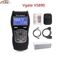 obd2 puede bus código escáner Rebajas El más nuevo Vgate VS890 OBD2 CAN-BUS Fault Lector de código de coche Universal Auto Scanner de diagnóstico Vgate VS890 Multi-Idiomas