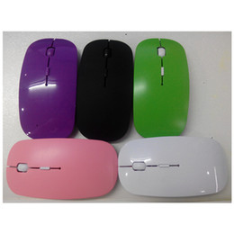 Wholesale Desktop Business - Business office New arrival USB 2.4Ghz Surper sllim Wireless Computer Mouse For PC Laptop Desktop