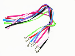 Wholesale Leash Walking Training - 120cm dog leash nylon Brand New Nylon Dog Leash Training pet Lead Strap Collar for daily walking 6 colors