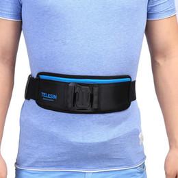 Cintura di vita della macchina fotografica online-Cinturino per cintura regolabile in vita per accessori TELESIN per cintura universale 3 4 3+ per fotocamera universale Spedizione gratuita