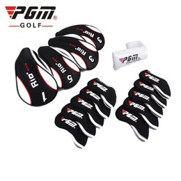 Wholesale Full Set Golf Clubs - 13-Pcs Golf Club Head Covers Headcovers Protect Case Colorful. Full Complete Golf Clubs Set Headcovers Rod Covers Head