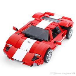 Wholesale Race Car Boxes - XingBao 03011 The Red Phantom Racing Car Set 919pcs with Original Box for Reselling Lepin Blocks Genuine Creative MOC Technic Series XB03011