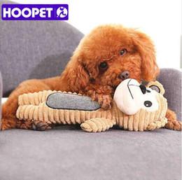 2019 formas de mono Mascotas Perros Perro Grande Cachorro Squeaky Masticar Juguetes Mono Oso Cerdo Forma de Plush Toys Fleece Masticar Juguetes de Formación Suministros para mascotas formas de mono baratos