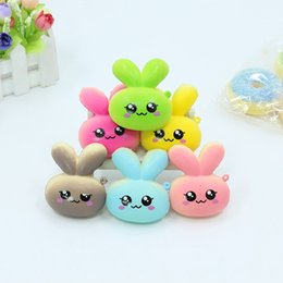 Wholesale Photographic Props - Rabbit Bread Doll Model Squishy Kawaii Charms Decompression Toys Squeeze Simulation Toy Colourful Squishies Photographic Props Funny 2cr X