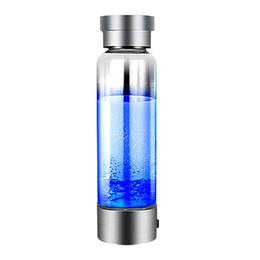 protetor shaker garrafa direta direta Desconto Top hidrogênio gerador portátil ionizador Para Pure H2 rico Hydrogen Garrafa de água Electrólise Hidrogen 350ml Bottle Drink