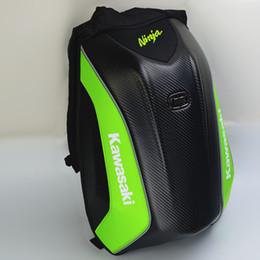 3b0e1a9320 drag bags Coupons - 2018 New locomotive bags Moto Racing Backpack Hard  shell motorbike backpacks NO