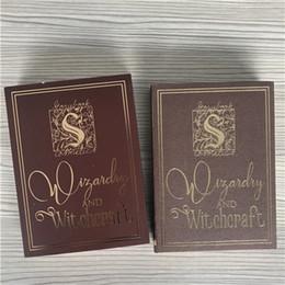libros harry potter al por mayor Rebajas Sombra de Ojos al por mayor Libro Mágico de Harry Potter 12 colores Red Wine Earth Color Rude Shimmer Capacidad de Reparación de Polvo